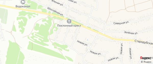 3-й Шоссейный проезд на карте села Ардонь с номерами домов