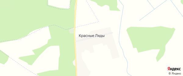 Карта поселка Красные Ляды в Брянской области с улицами и номерами домов