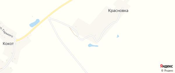 Улица Румянцева на карте деревни Красновки с номерами домов