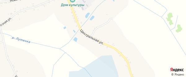 Центральная улица на карте поселка Туренева с номерами домов