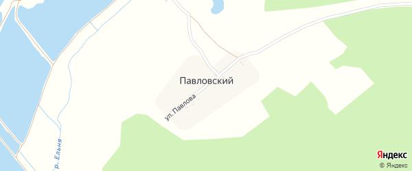 Улица Павлова на карте Павловского поселка с номерами домов