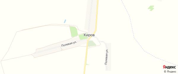 Карта поселка Кирова в Брянской области с улицами и номерами домов
