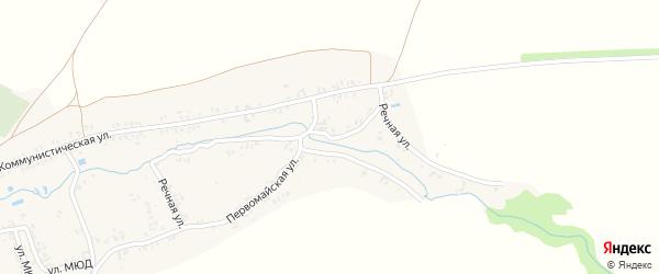 Речная улица на карте села Коржовки-Голубовки с номерами домов
