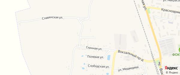 Улица Есенина на карте Суража с номерами домов
