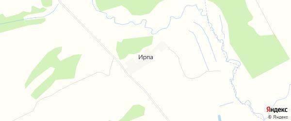 Карта поселка Ирпы в Брянской области с улицами и номерами домов
