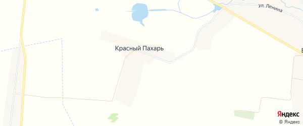 Карта поселка Красного Пахаря в Брянской области с улицами и номерами домов