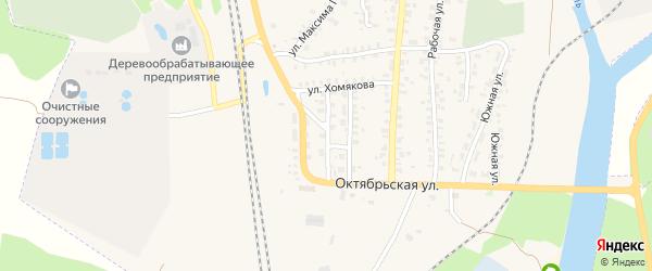 Транспортная улица на карте Суража с номерами домов