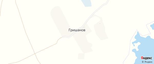 Луговая улица на карте поселка Гришанова с номерами домов