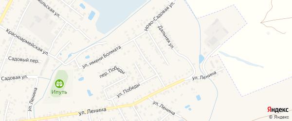 Ново-Садовая улица на карте Суража с номерами домов