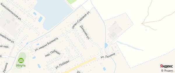Дальняя улица на карте Суража с номерами домов
