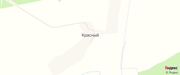 Лесная улица на карте Красного поселка с номерами домов