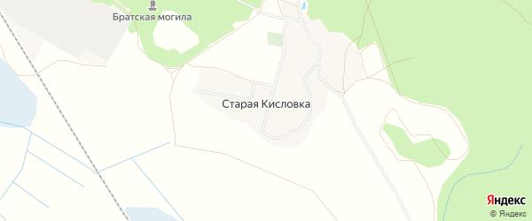 Карта деревни Старой Кисловки в Брянской области с улицами и номерами домов
