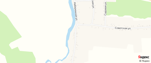 Набережная улица на карте села Истопки с номерами домов