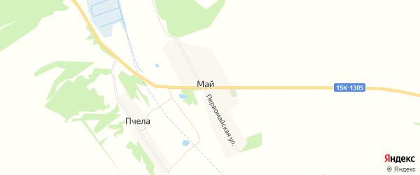 Карта поселка Мая в Брянской области с улицами и номерами домов