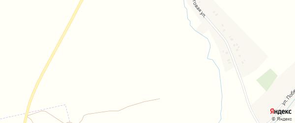 Зеленая улица на карте поселка Лебедина с номерами домов