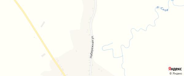 Набережная улица на карте села Курозново с номерами домов