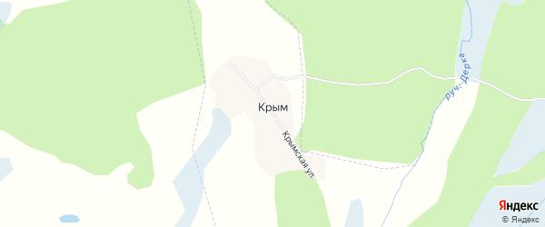 Карта поселка Крыма в Брянской области с улицами и номерами домов