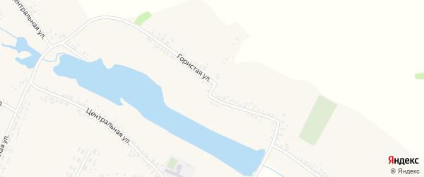 Гористая улица на карте села Медведово с номерами домов