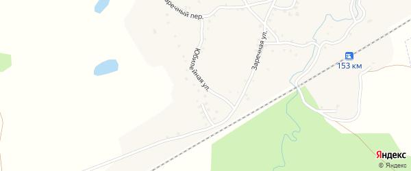 Юбилейная улица на карте села Робчика с номерами домов