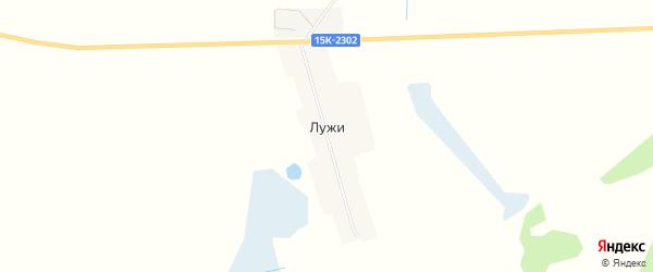 Карта поселка Лужи в Брянской области с улицами и номерами домов