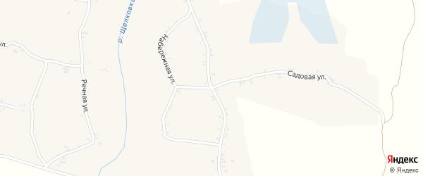 Садовая улица на карте села Ляличей с номерами домов