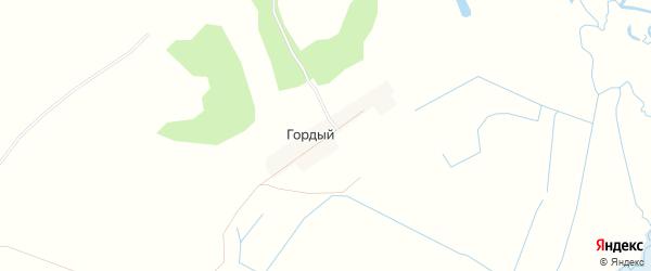 Карта Гордого поселка в Брянской области с улицами и номерами домов