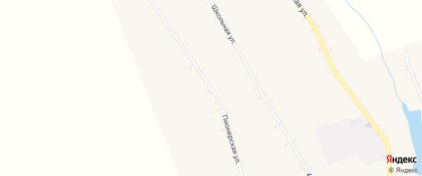 Пионерская улица на карте села Елионки с номерами домов