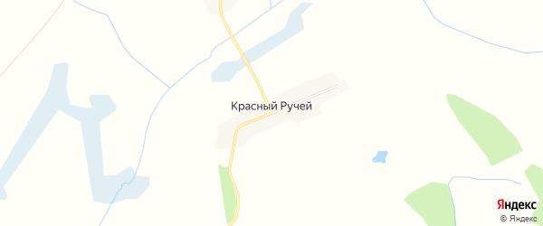 Карта поселка Красного Ручья в Брянской области с улицами и номерами домов