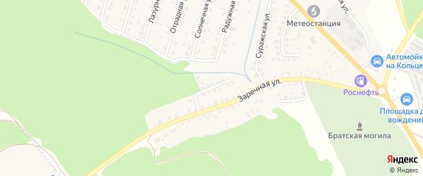 Улица Гоманкова на карте Унечи с номерами домов