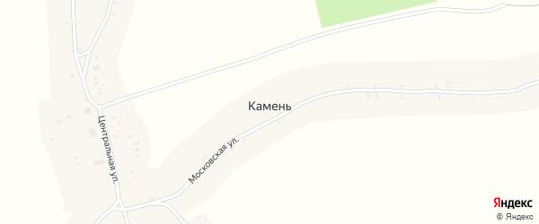 Стародубская улица на карте деревни Камня с номерами домов