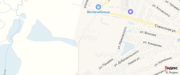 Звездная улица на карте Унечи с номерами домов