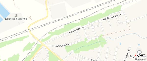 Кольцевая улица на карте Унечи с номерами домов
