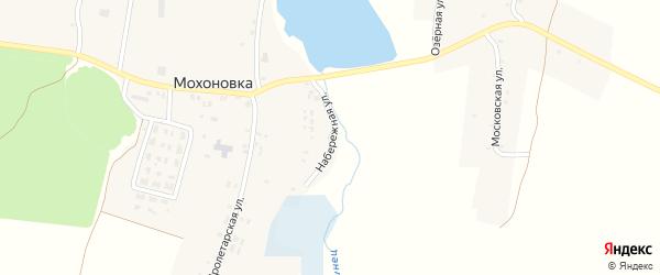 Набережная улица на карте села Мохоновки с номерами домов