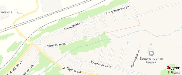 2-й Кольцевой переулок на карте Унечи с номерами домов