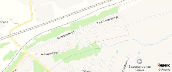 3-й Кольцевой переулок на карте Унечи с номерами домов