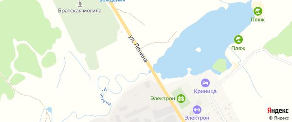 Улица Ленина на карте Унечи с номерами домов