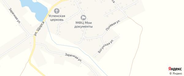 5-й Октябрьский переулок на карте села Найтоповичи с номерами домов