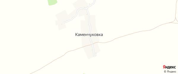 Лесная улица на карте хутора Каменчуковки с номерами домов