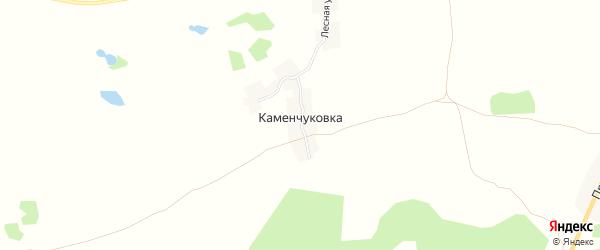 Карта хутора Каменчуковки в Брянской области с улицами и номерами домов