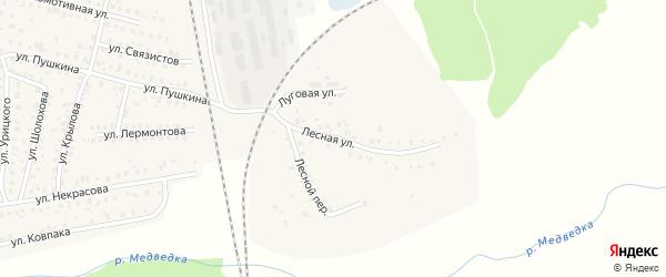 Лесная улица на карте Унечи с номерами домов
