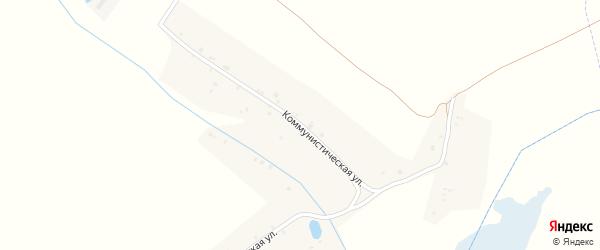 Коммунистическая улица на карте деревни Коржовки с номерами домов