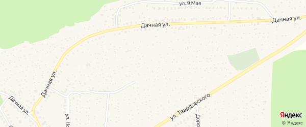 Территория КСТ Заря на карте Унечи с номерами домов