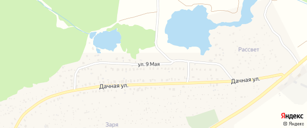 9 Мая улица на карте Унечи с номерами домов