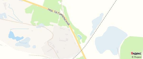 Гомельская улица на карте Унечи с номерами домов
