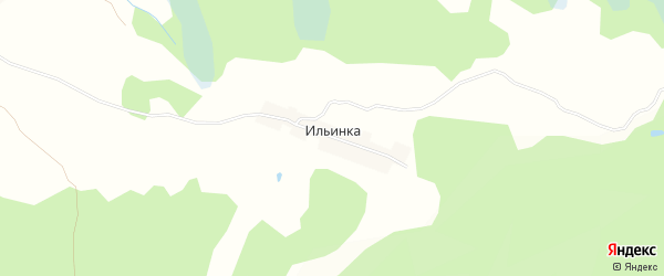 Карта поселка Ильинки в Брянской области с улицами и номерами домов