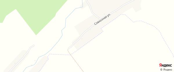 Молодежная улица на карте Новокрасного поселка с номерами домов