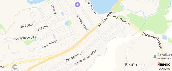 Улица Ленина на карте Стародуб с номерами домов