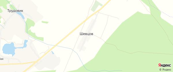 Карта поселка Шевцова в Брянской области с улицами и номерами домов