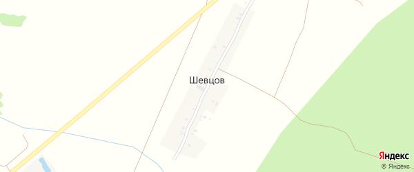 Стальная улица на карте поселка Шевцова с номерами домов