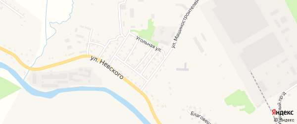 Улица 9 Января на карте Нелидово с номерами домов